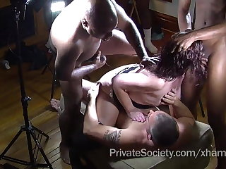 The Private Society Gangbang Club Be fitting of Leave high Housewives