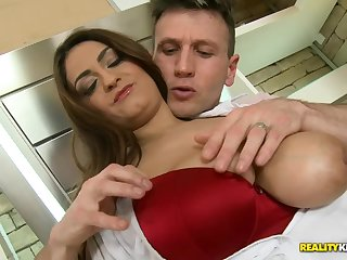 Cock riding thing with gorgeous Sandra Milka