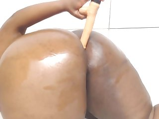BBW nymphomaniac shagged amazing huge butt