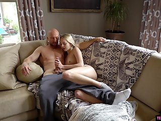Adorable Lily Larimar loves treating their way fella to fabulous fucking