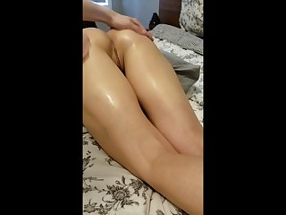 Cute brunette girlfriend handsome my big blarney in her tight wet pussy
