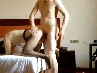 This slut is a a load off one's feet oriented whore and she loves getting fucked mish style