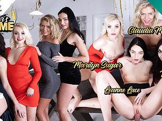 CzechVR 323 New Year's Fivesome