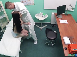 Naked patient hard fucked by the counselor and taped secret