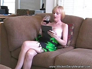 Hot BJ from the amazing Wicked Sexy Melanie she gets a grotesque cumshot facial here too