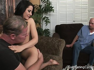 Real Little cuckold Taste Be fitting of Alms-man Buttocks