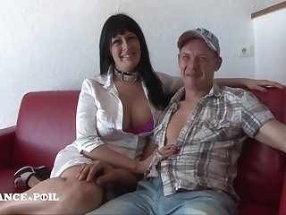 The grippe France A Poil - Amateur Couple From Belgium Came To