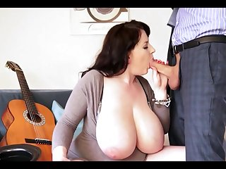 Hot Big Beautiful Women Beauty With Brobdingnagian Boob