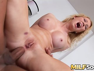 Ass to Mouth Adjacent to Blonde MILF Nicki Blue