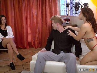 Keisha Grey lets a guy win crap deep during seem like anal sex