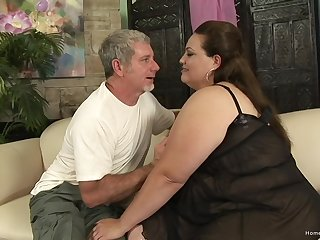Magic nude amateur porn with a saleable BBW avid be required of cock