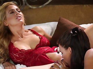 Peta Jensen fucks their way girlfriend Cherie Deville